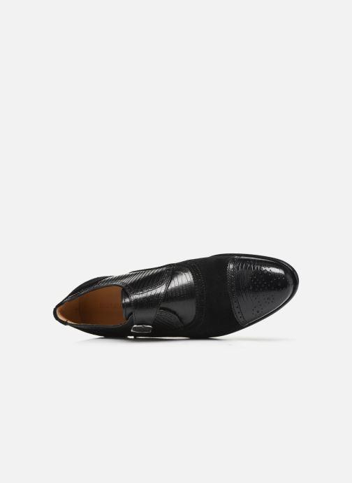 Zapato con hebilla Melvin & Hamilton Henry 11 Negro vista lateral izquierda
