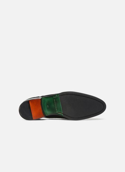 Zapato con hebilla Melvin & Hamilton Henry 11 Negro vista de arriba