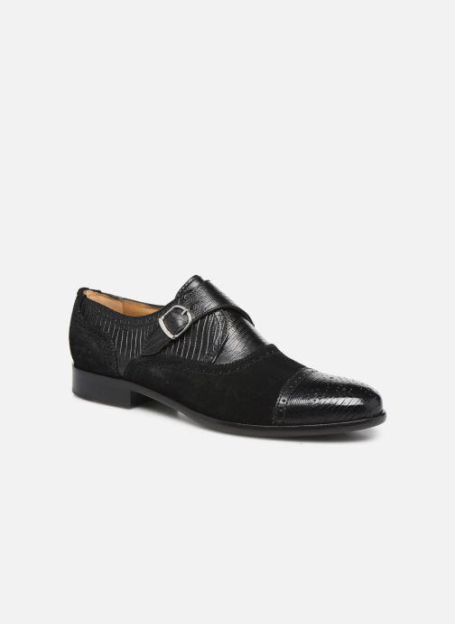 Zapato con hebilla Melvin & Hamilton Henry 11 Negro vista de detalle / par