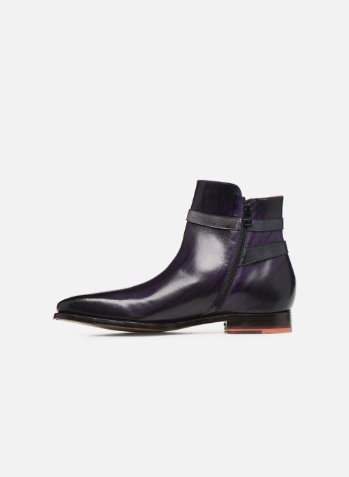 Bottines et boots Melvin & Hamilton Kylian 3 Violet vue face