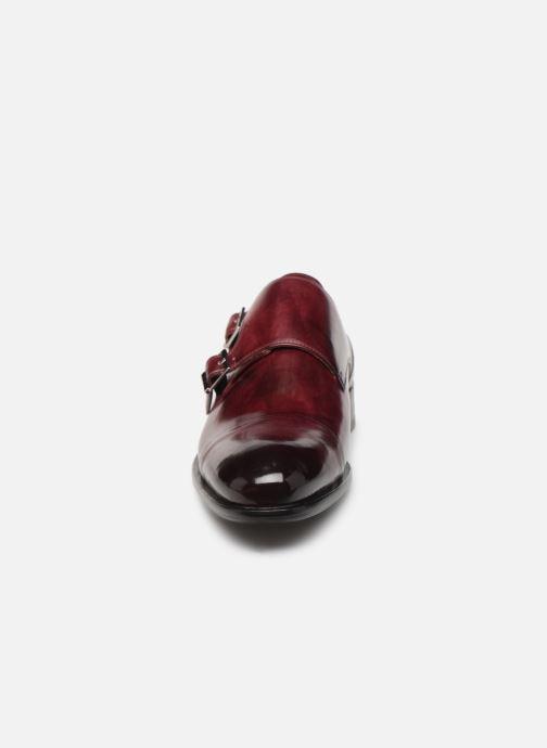 Chaussure à boucle Melvin & Hamilton Patrick 2 Bordeaux vue portées chaussures
