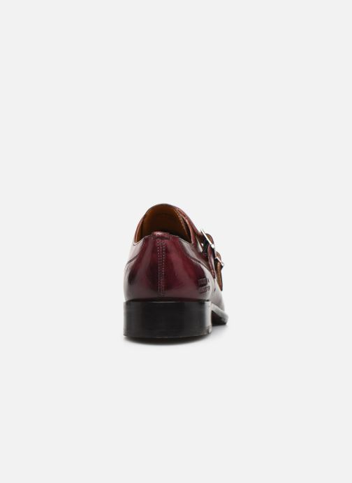 Loafers Melvin & Hamilton Patrick 2 Burgundy view from the right