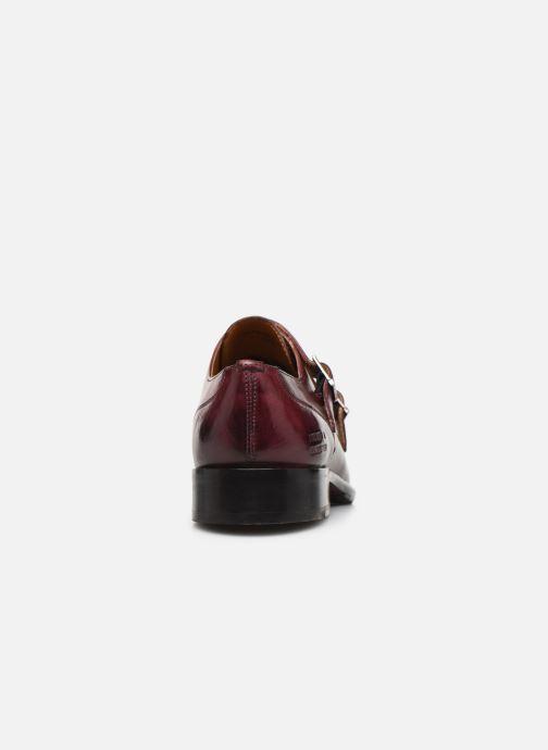 Chaussure à boucle Melvin & Hamilton Patrick 2 Bordeaux vue droite