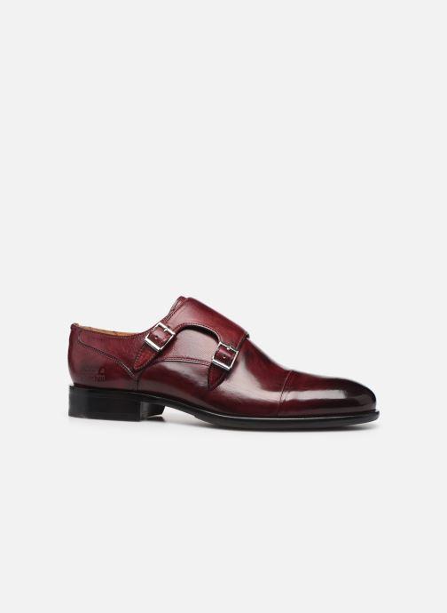 Chaussure à boucle Melvin & Hamilton Patrick 2 Bordeaux vue derrière