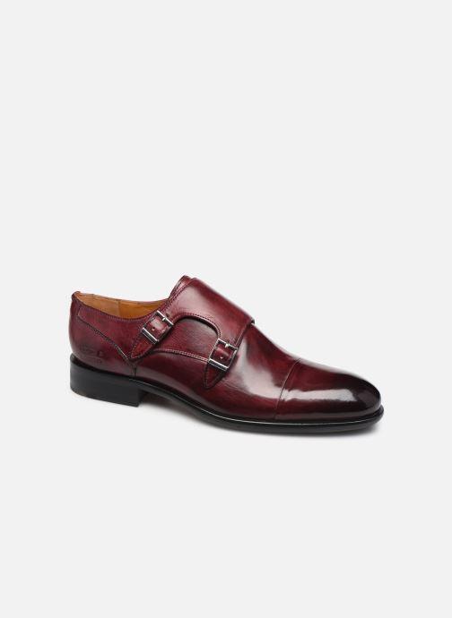 Chaussure à boucle Melvin & Hamilton Patrick 2 Bordeaux vue détail/paire
