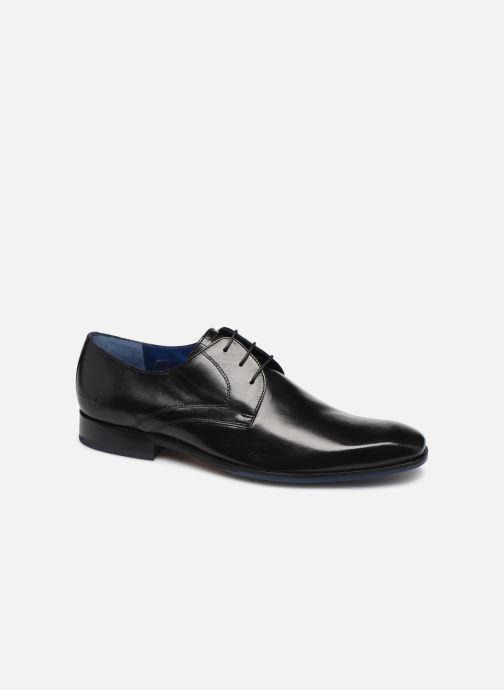 Lace-up shoes Melvin & Hamilton Rico 1 Black detailed view/ Pair view