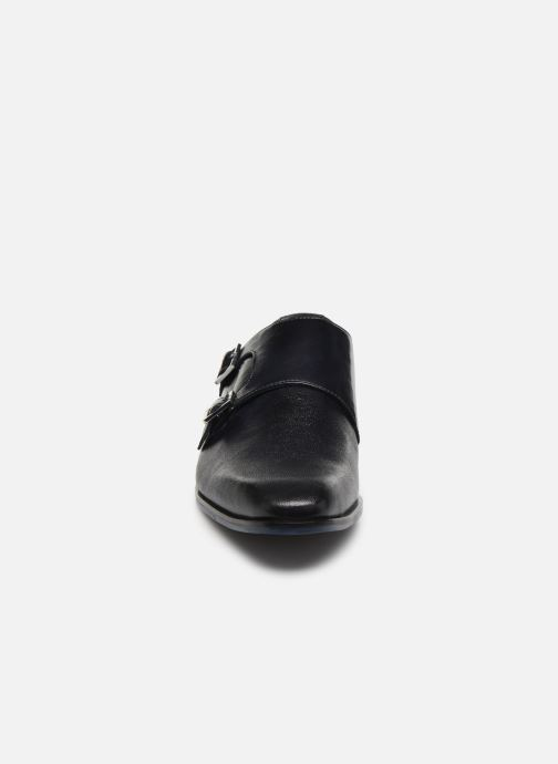 Zapato con hebilla Melvin & Hamilton Rico 3 Azul vista del modelo