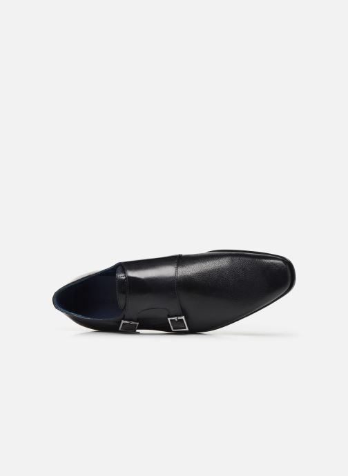 Zapato con hebilla Melvin & Hamilton Rico 3 Azul vista lateral izquierda