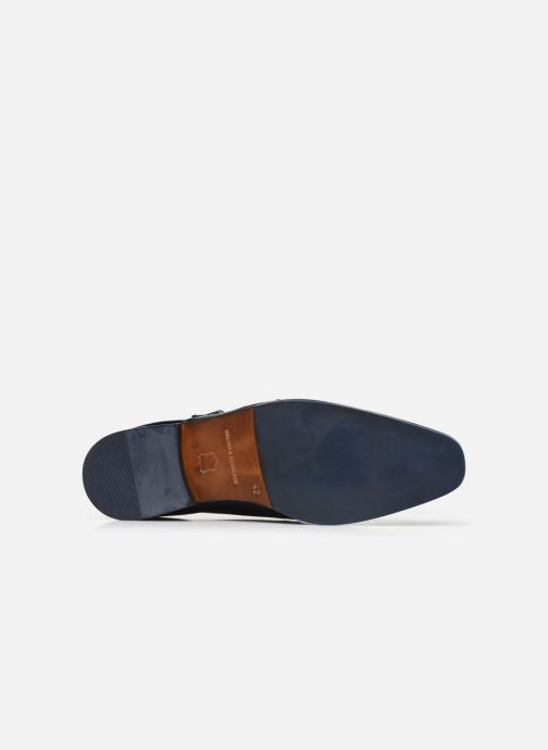 Zapato con hebilla Melvin & Hamilton Rico 3 Azul vista de arriba