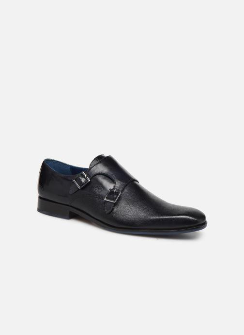 Zapato con hebilla Melvin & Hamilton Rico 3 Azul vista de detalle / par