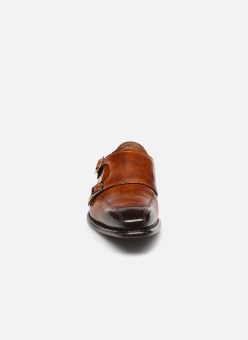 Mocassini Melvin & Hamilton Stanley 4 Marrone modello indossato