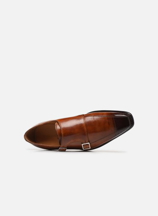 Loafers Melvin & Hamilton Stanley 4 Brown view from the left
