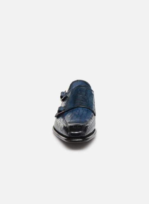 Mocassins Melvin & Hamilton Stanley 4 Bleu vue portées chaussures