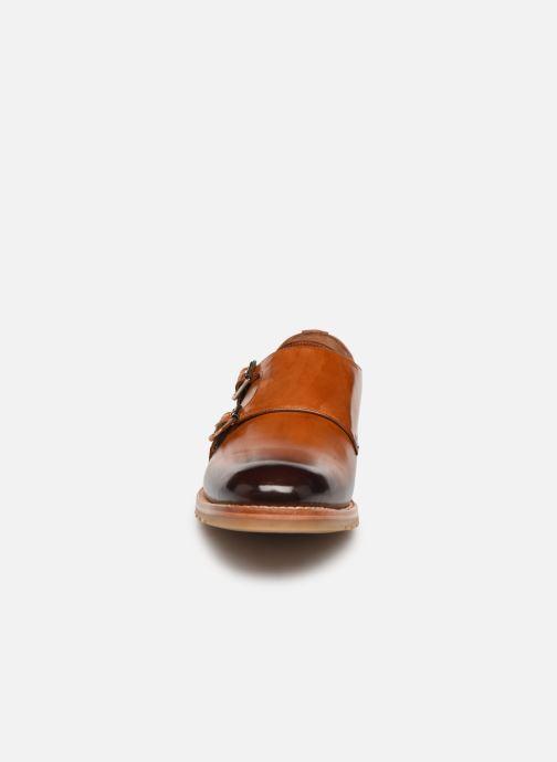 Schuhe mit Schnallen Melvin & Hamilton Taylor 3 braun schuhe getragen