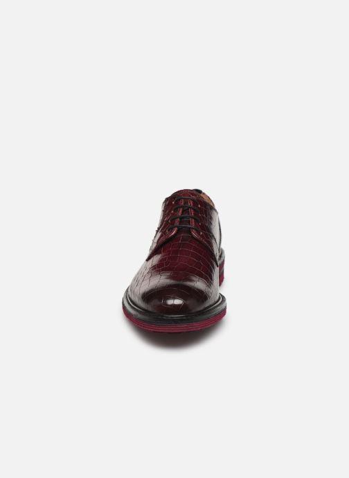 Chaussures à lacets Melvin & Hamilton Trevor 7 Bordeaux vue portées chaussures