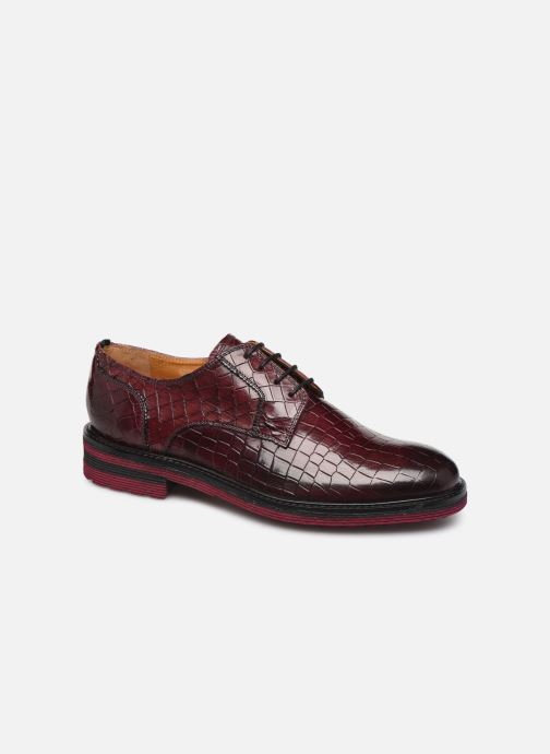 Lace-up shoes Melvin & Hamilton Trevor 7 Burgundy detailed view/ Pair view