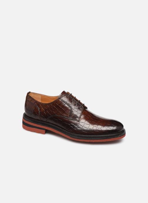 Lace-up shoes Melvin & Hamilton Trevor 7 Brown detailed view/ Pair view