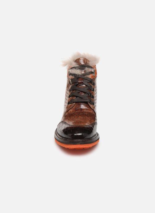 Bottines et boots Melvin & Hamilton Amelie 23 Marron vue portées chaussures