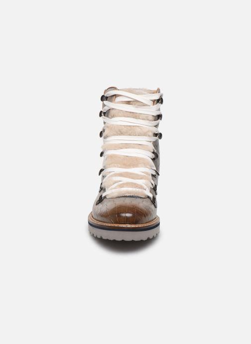 Bottines et boots Melvin & Hamilton Bonnie 10 Gris vue portées chaussures