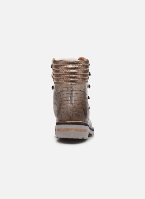 Bottines et boots Melvin & Hamilton Bonnie 10 Gris vue droite