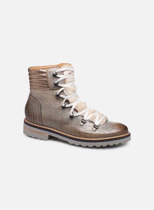 Bottines et boots Melvin & Hamilton Bonnie 10 Gris vue détail/paire