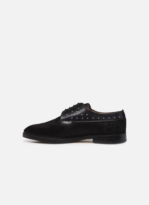 Zapatos con cordones Melvin & Hamilton Katrin 2 Negro vista de frente