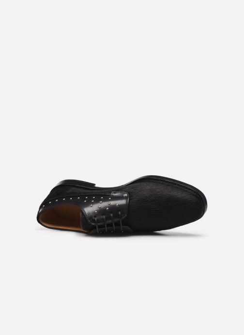 Zapatos con cordones Melvin & Hamilton Katrin 2 Negro vista lateral izquierda