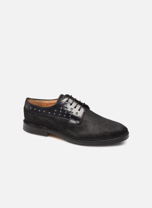 Zapatos con cordones Melvin & Hamilton Katrin 2 Negro vista de detalle / par