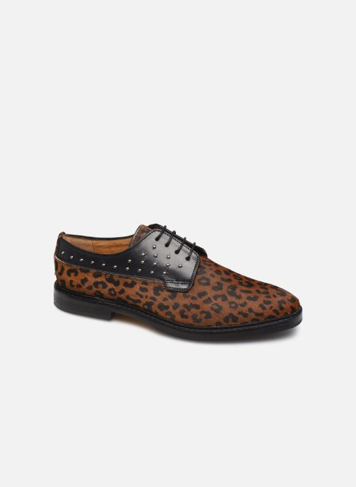 Zapatos con cordones Melvin & Hamilton Katrin 2 Marrón vista de detalle / par