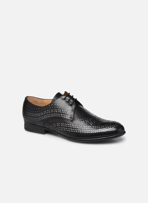 Zapatos con cordones Melvin & Hamilton Sally 82 Negro vista de detalle / par