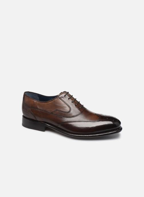 Lace-up shoes Melvin & Hamilton Charles 8 Brown detailed view/ Pair view