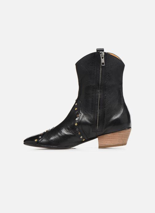 Bottines et boots Melvin & Hamilton Jodie 3 Noir vue face