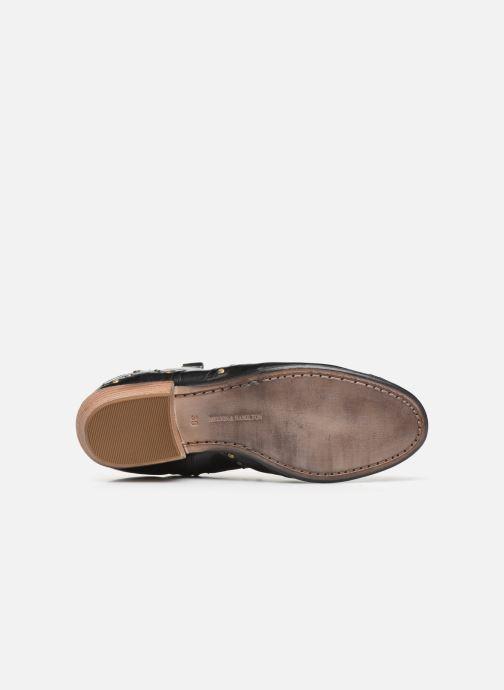 Bottines et boots Melvin & Hamilton Jodie 3 Noir vue haut