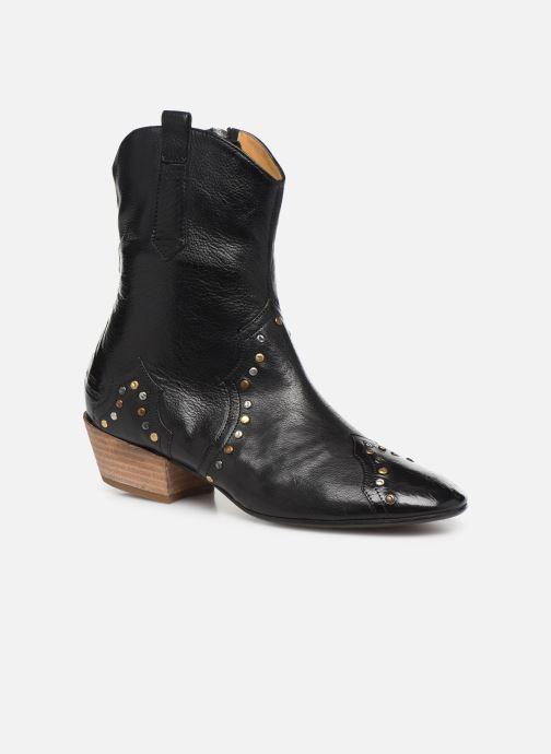 Bottines et boots Melvin & Hamilton Jodie 3 Noir vue détail/paire