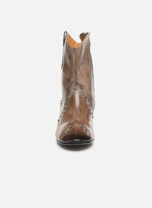 Bottines et boots Melvin & Hamilton Jodie 3 Gris vue portées chaussures