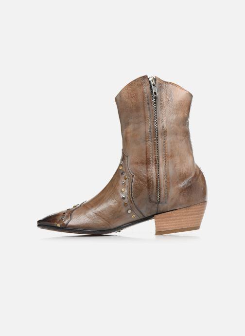 Bottines et boots Melvin & Hamilton Jodie 3 Gris vue face