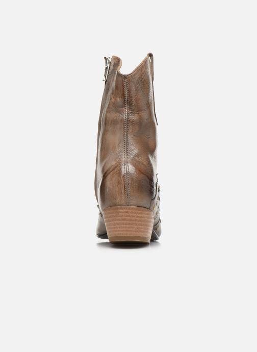 Bottines et boots Melvin & Hamilton Jodie 3 Gris vue droite