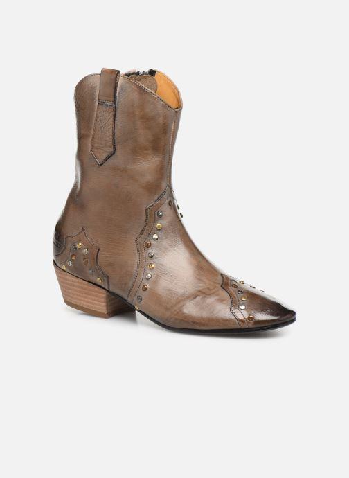 Boots en enkellaarsjes Melvin & Hamilton Jodie 3 Grijs detail
