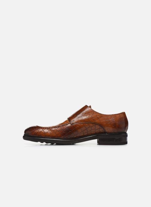 Schuhe mit Schnallen Melvin & Hamilton Parker 2 braun ansicht von vorne