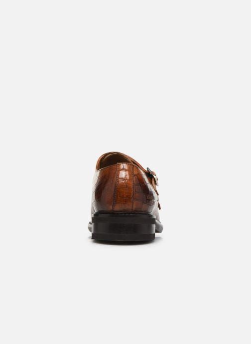 Schuhe mit Schnallen Melvin & Hamilton Parker 2 braun ansicht von rechts