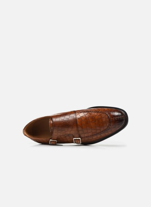 Schuhe mit Schnallen Melvin & Hamilton Parker 2 braun ansicht von links