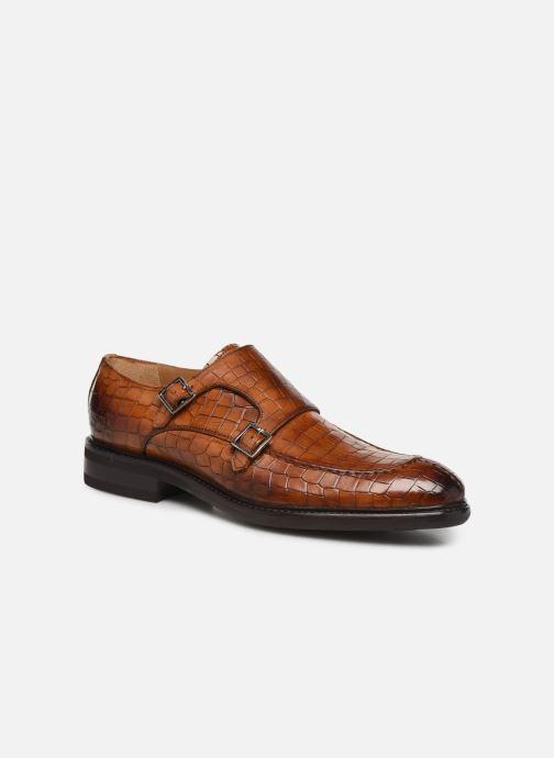 Schuhe mit Schnallen Melvin & Hamilton Parker 2 braun detaillierte ansicht/modell