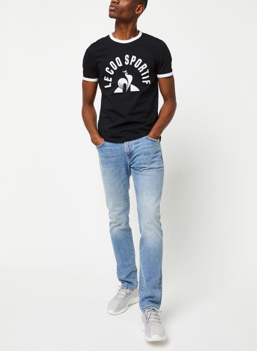 Le Coq Sportif T-shirt - Ess Tee Ss N°3 M (Noir) - Vêtements (416774)