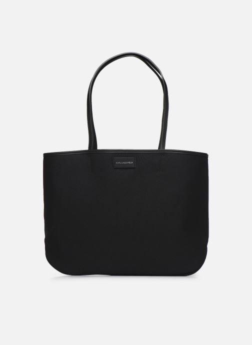 Handtaschen Karl Lagerfeld Karl Legend Canvas Tote schwarz ansicht von vorne