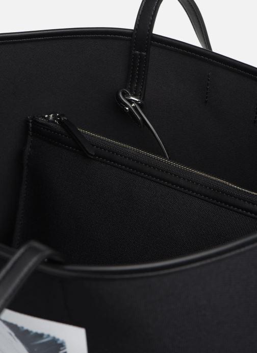 Handtassen Karl Lagerfeld Karl Legend Canvas Tote Zwart achterkant