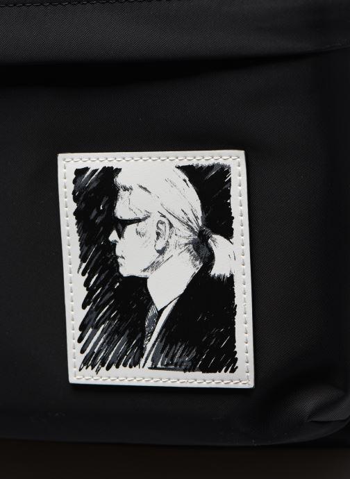 Zaini Karl Lagerfeld Karl Legend Nylon Backpack Nero immagine sinistra