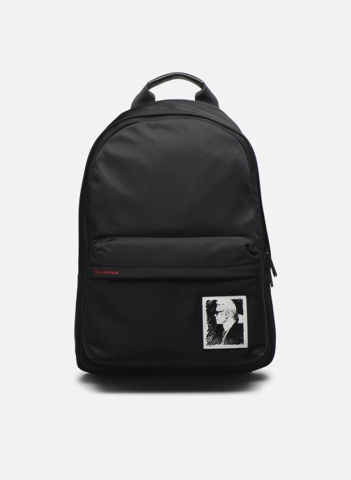 Sacs à dos Karl Lagerfeld Karl Legend Nylon Backpack Noir vue détail/paire