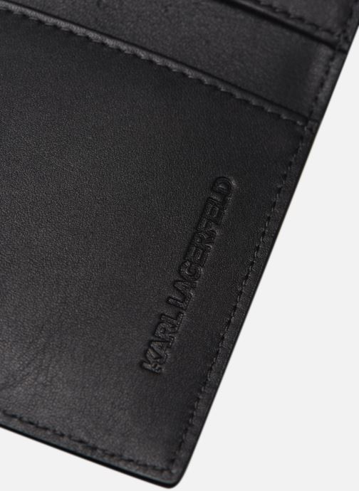 Petite Maroquinerie Karl Lagerfeld Karl Legend Cardholder Noir vue derrière