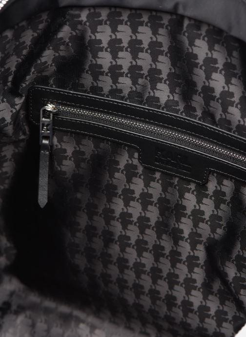 Sacs à main Karl Lagerfeld K/Ikonik Nylon Tote Noir vue derrière