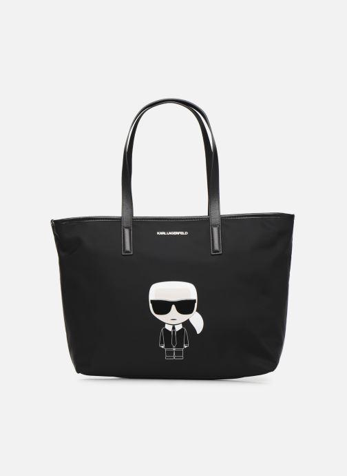 Sacs à main Karl Lagerfeld K/Ikonik Nylon Tote Noir vue détail/paire